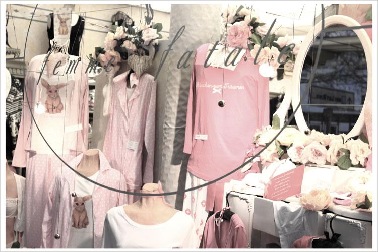 Femme Fatale Herford Shop Front